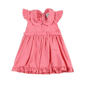 Vestido Infantil para Bebê Menina - Rosa M