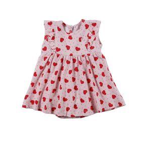 Vestido Infantil para Bebê Menina - Rosa GG