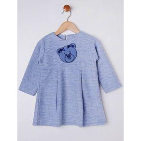 Vestido Infantil para Menina - Azul 2