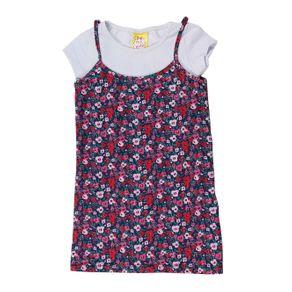 Vestido Infantil para Menina - Azul Marinho 6