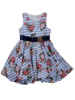 Vestido Infantil para Menina - Azul