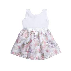 Vestido Infantil para Menina - Branco 1