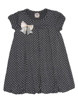 Vestido Infantil para Menina - Cinza