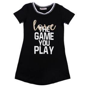 Vestido Infantil para Menina - Preto 4