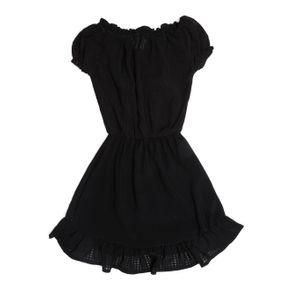 Vestido Infantil para Menina - Preto 6
