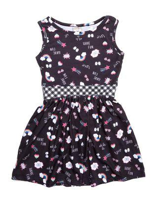 Vestido Infantil para Menina - Preto