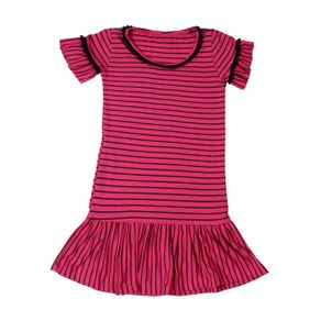 Vestido Infantil para Menina - Rosa 10