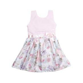 Vestido Infantil para Menina - Rosa 2