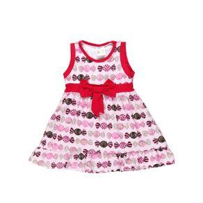 Vestido Infantil para Menina - Rosa 1