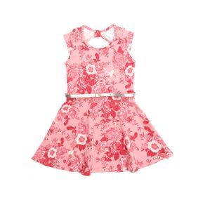 Vestido Infantil para Menina - Rosa 3