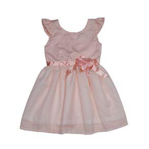 Vestido Infantil para Menina - Salmão 1