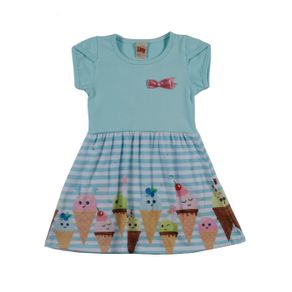Vestido Infantil para Menina - Verde 1