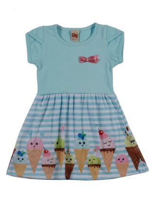 Vestido Infantil para Menina - Verde