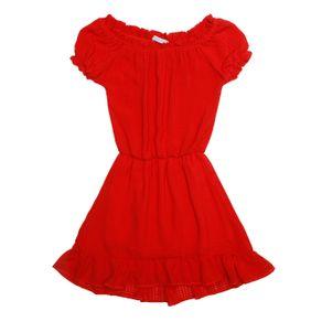 Vestido Infantil para Menina - Vermelho 4