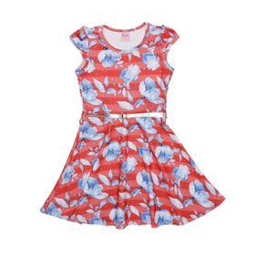 Vestido Infantil para Menina - Vermelho 8