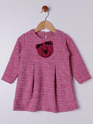 Vestido Infantil para Menina - Vermelho
