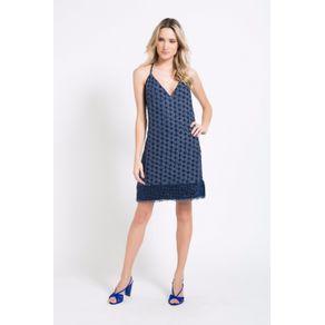 Vestido Jazz Azul Sky - 36