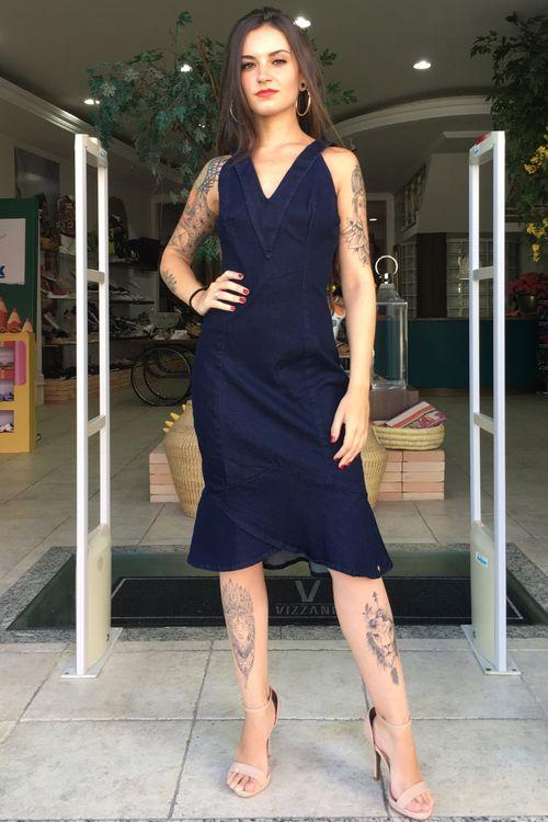 Vestido Jeans Dct Maria Valentina - P