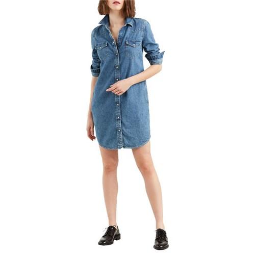 Vestido Jeans Levis Ultimate Western - L