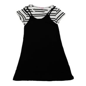 Vestido Juvenil para Menina - Preto 10