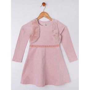 Vestido Juvenil para Menina - Rosa 16