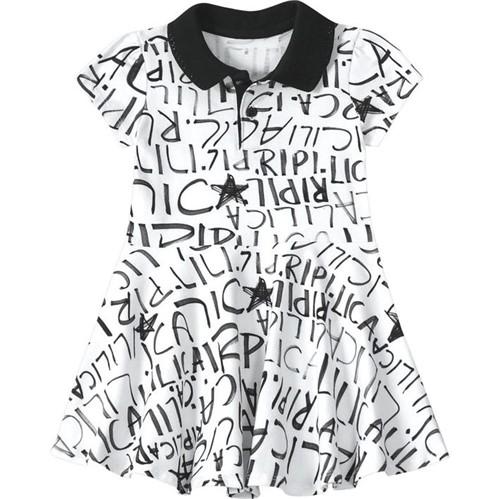 Vestido Lilica Ripilica Branca Bebê Menina