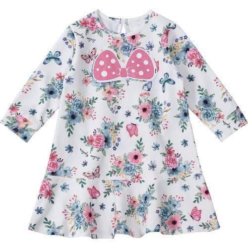 Vestido Lilica Ripilica Branco Bebê Menina 30232