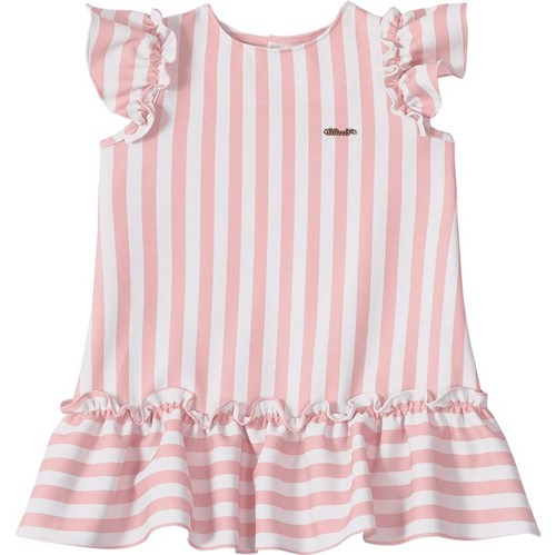Vestido Lilica Ripilica Listrado Bebê