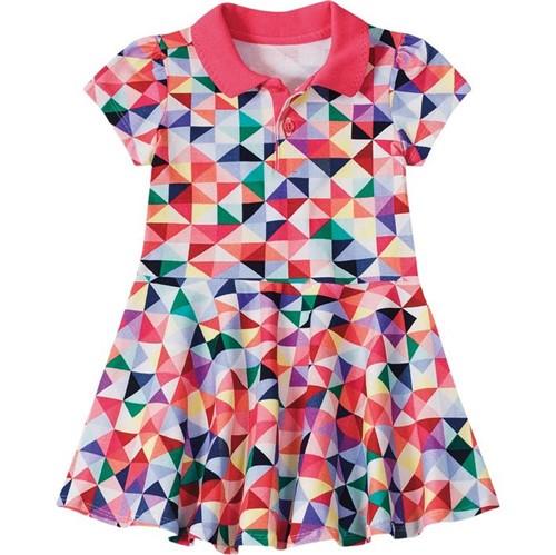 Vestido Lilica Ripilica Triângulo Bebê Menina