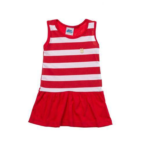 Vestido Little Girl Vermelho