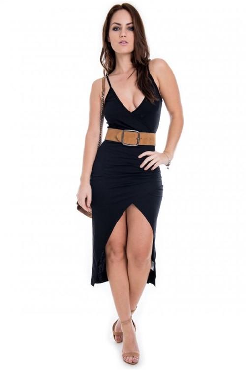 Vestido Longo Midi de Alcinha VE1497 - P