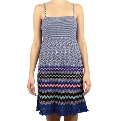 Vestido M Missoni Azul Bic