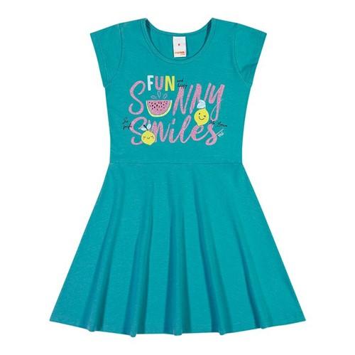 Vestido Marisol Play Azul Menina