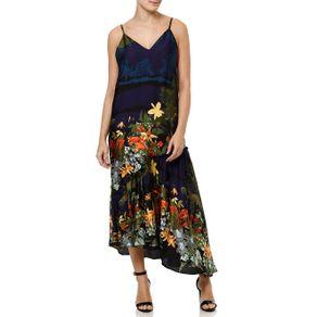 Vestido Médio Feminino Autentique Azul Marinho G