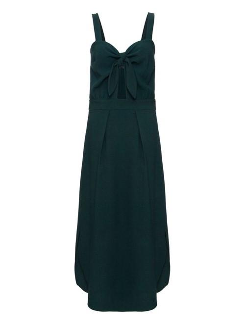 Vestido Midi Bello Verde Tamanho 38