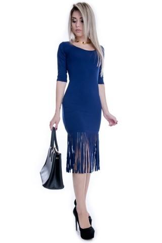 Vestido Midi com Franjas VE1405 - G