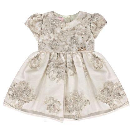 Vestido para Bebe em Renda Guipir Caroline - Miss Sweet