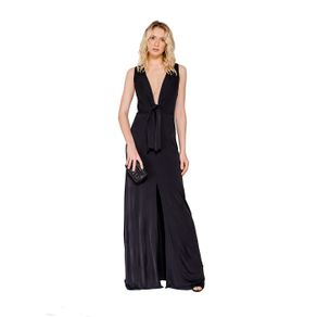 Vestido Regata Amarração Decote Colcci M