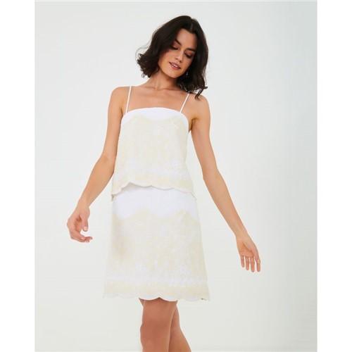 Vestido Renda Offwhite PP
