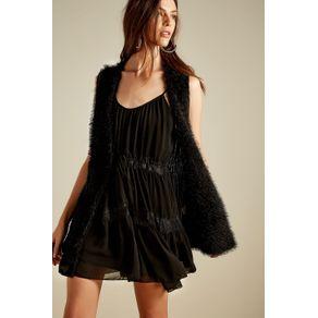 Vestido Renda Preto - 40