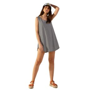 Vestido Saida Venice Stripe G