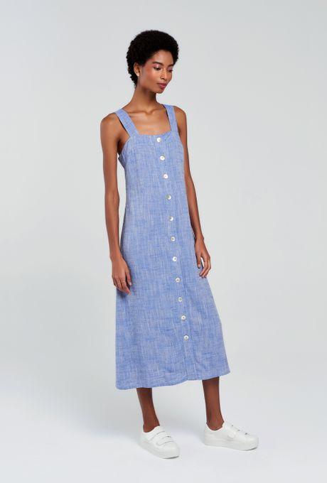 Vestido Santa Bárbara Azul G