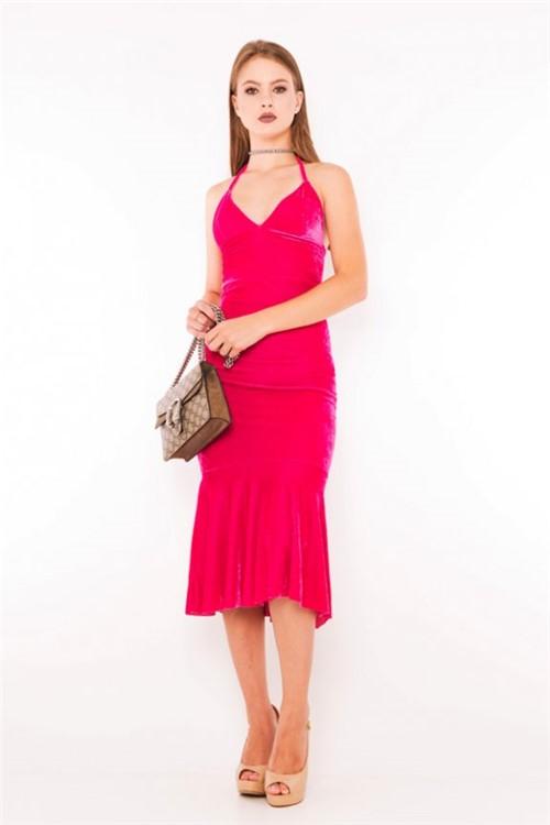 Vestido Velvet Frente Única VE1792 - Kam Bess