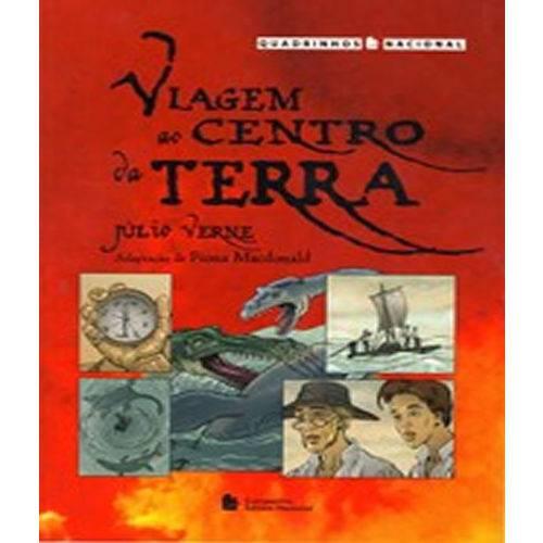 Viagem ao Centro da Terra - Quadrinhos Nacional - 02 Ed