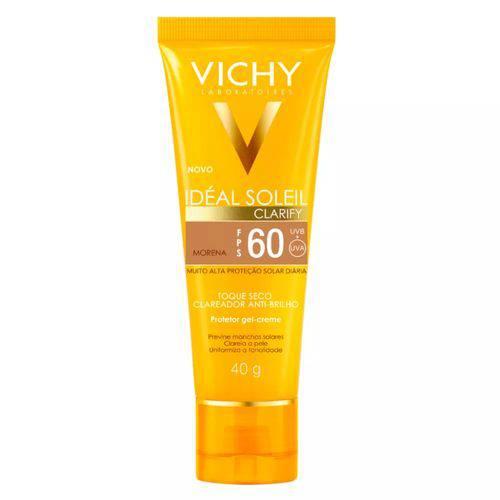Vichy Ideal Soleil Clarify Fps 60 Cor Morena 40g