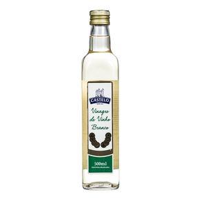 Vinagre de Vinho Branco Castelo 500mL