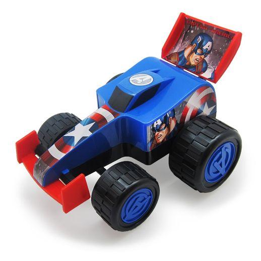 Vingadores Fórmula Monster Roda Livre 28 Cm Capitão América - Toyng