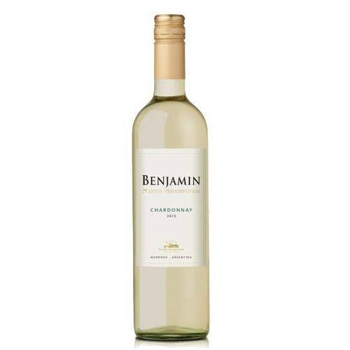 Vinho Benjamin Nieto Chardonnay Branco - Argentina - 750ml