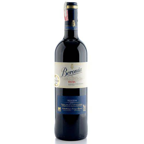 Vinho Beronia Reserva Tinto 750 Ml