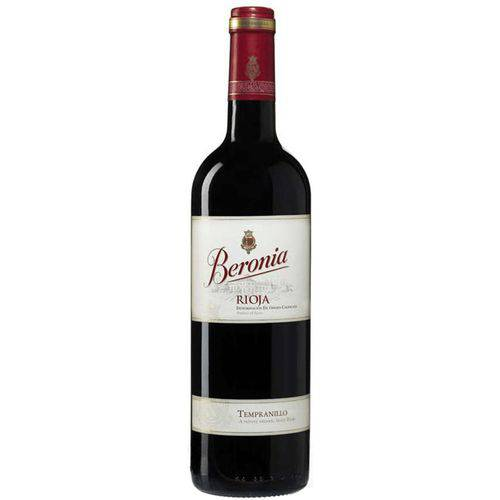 Vinho Beronia Tempranillo Tinto 750 Ml
